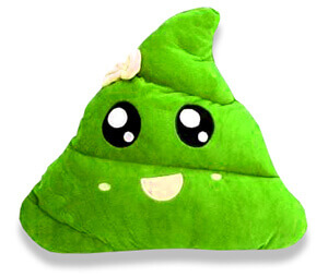 green poo